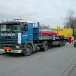 Transport zur Baustelle