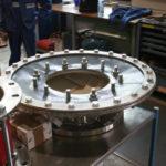 Kompensator-Membrane mit angepassten Stahlteilen für die chemische Industrie
