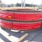 Zwei Kompensator-Units für eine Zementfabrik - vor dem Transport