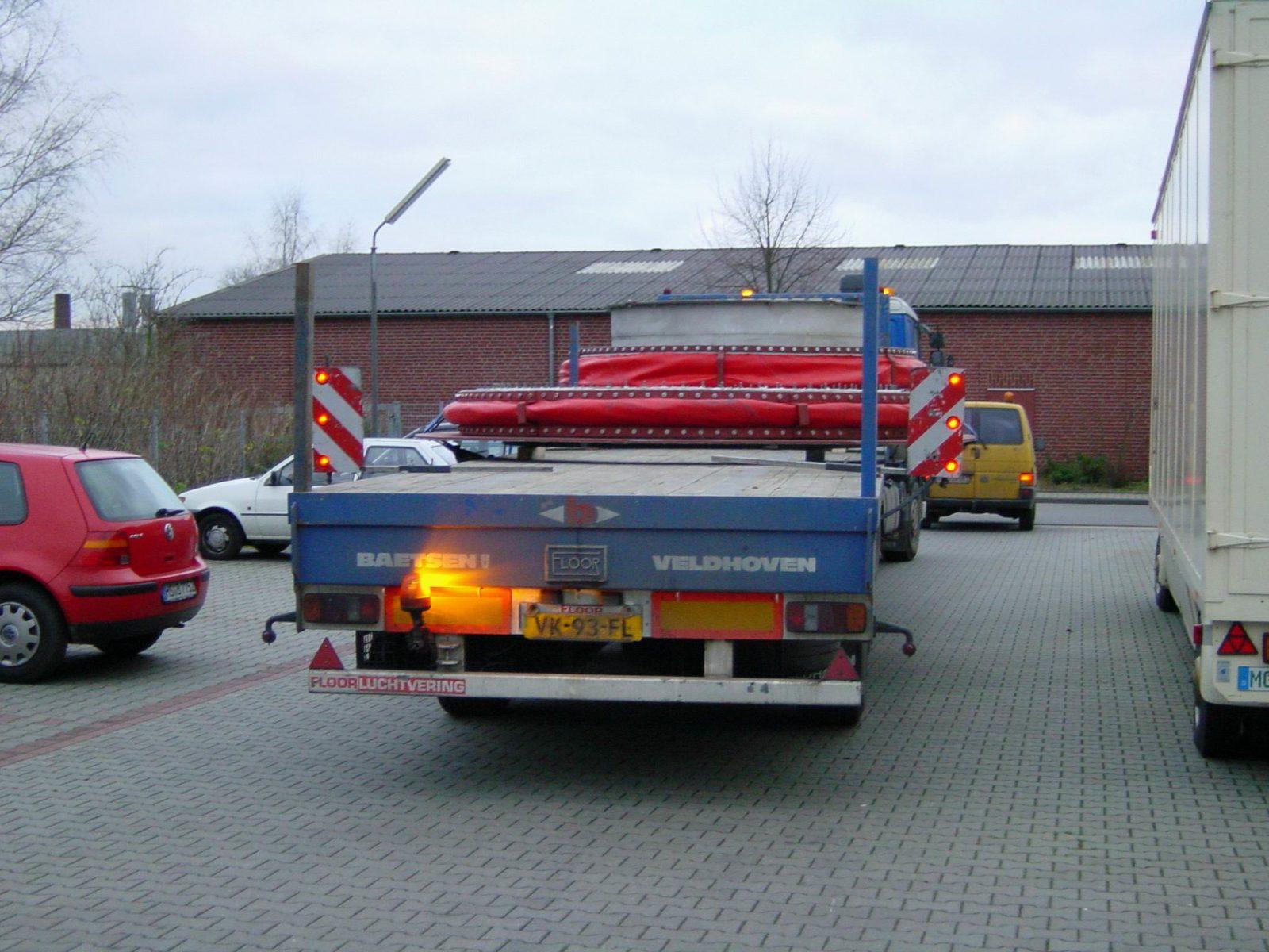 Verpackung und Transport