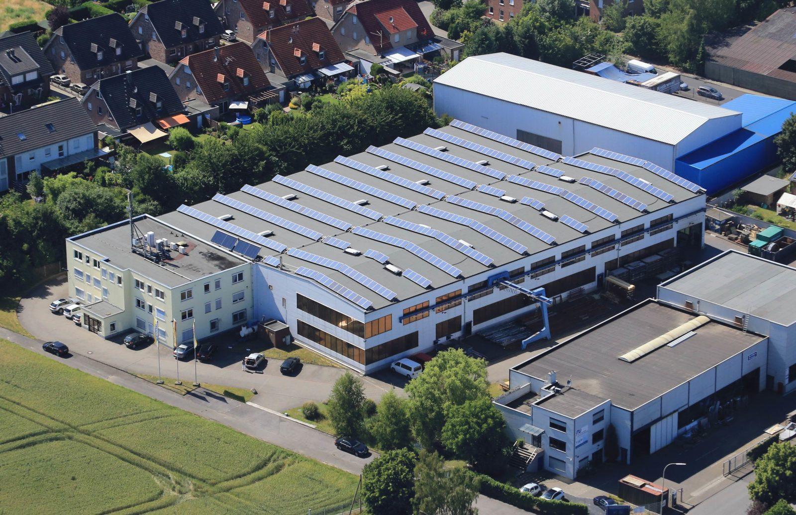 Firmengelände Luftbild